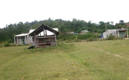 Khu đất gia đình ông Lương Văn Môn khiếu nại chưa được nhận đủ tiền đền bù.