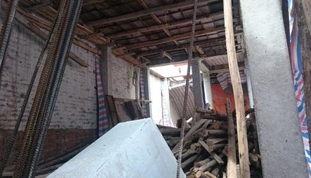 UBND phường Hàng Đào khẳng định sẽ xử lý dứt điểm công trình vi phạm trong tháng 6/1015
