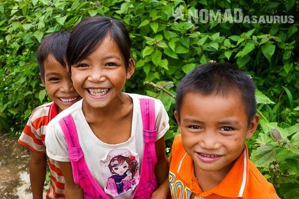 Nụ cười hồn nhiên và trong trẻo của trẻ thơ Việt Nam.