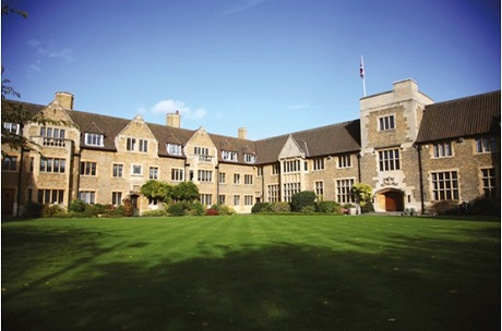 Một góc xinh đẹp của Bellerbys College.
