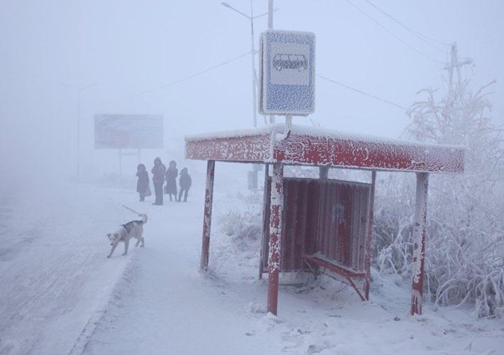 Verkhoyansk, Nga