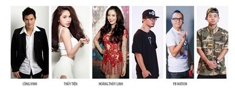Dàn nghệ sĩ đình đám của showbiz Việt sẽ khuấy động đêm lễ hội.