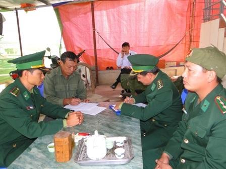 Lực lượng biên phòng ghi lời kể của thủy thủ trong vụ chìm tàu