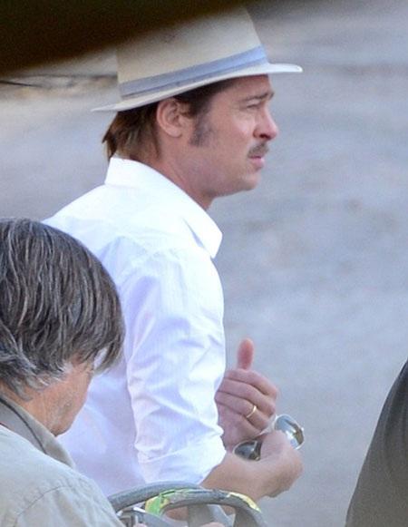 Hình ảnh lịch lãm của nam diễn viên 50 tuổi trong bộ phim mới.