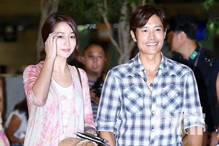 Lee Min Jung và Lee Byung Heon hiện đang sống hạnh phúc tại Mỹ.