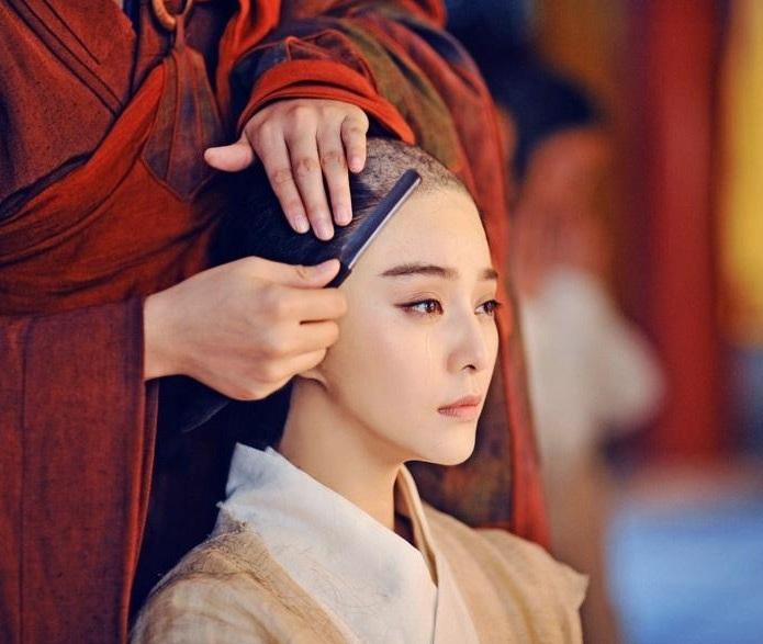Nhân vật Võ Mỵ Nương của Phạm Băng Băng phải xuống tóc trong