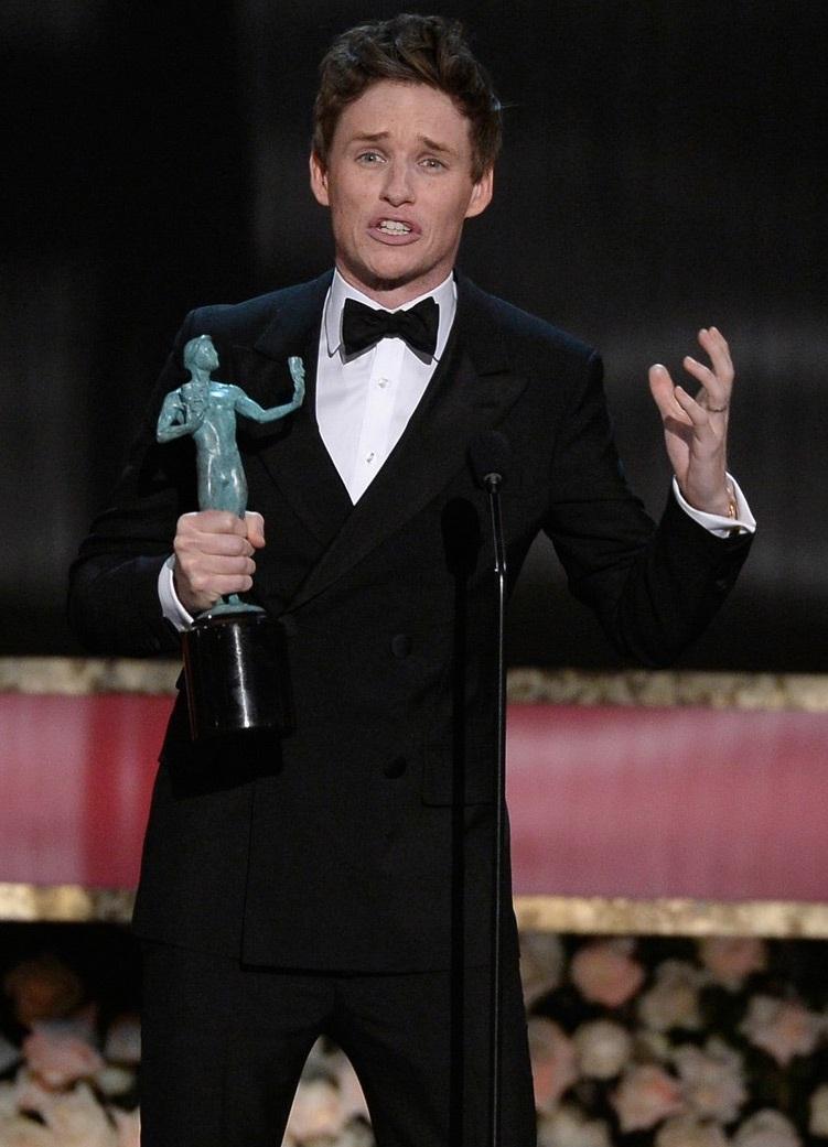 Eddie Redmayne nhận giải Nam diễn viên xuất sắc nhất