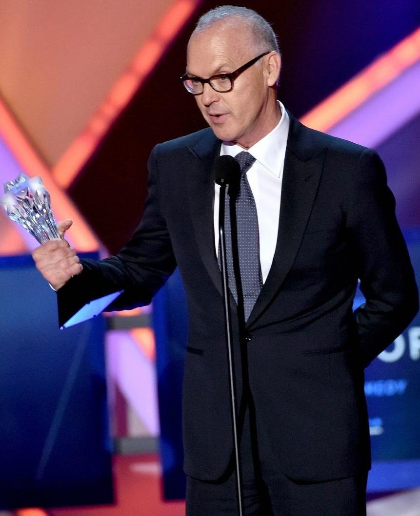 Michael Keaton nhận giải Nam diễn viên xuất sắc nhất