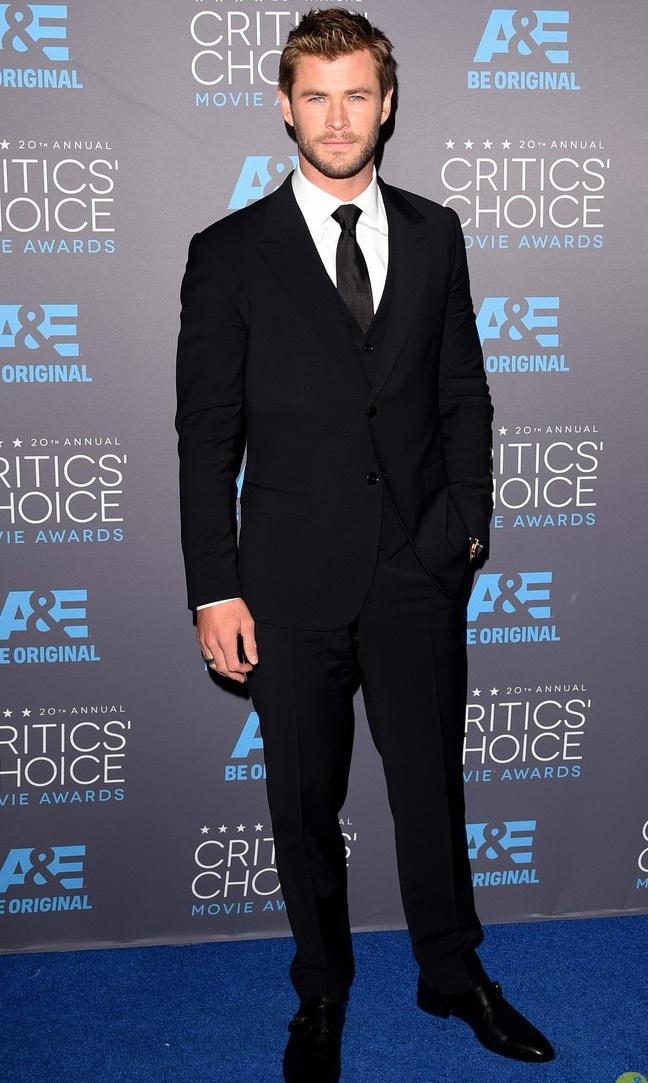Chris Hemsworth - người đàn ông gợi tình nhất thế giới năm 2014.