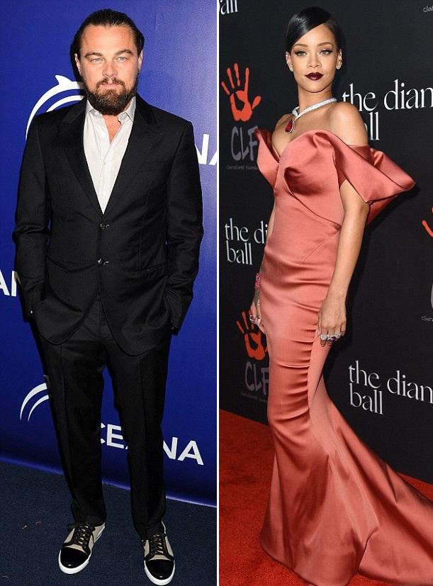 Leonardo DiCaprio đang cặp kè với Rihanna?