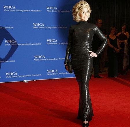 Nữ diễn viên kỳ cựu Jane Fonda