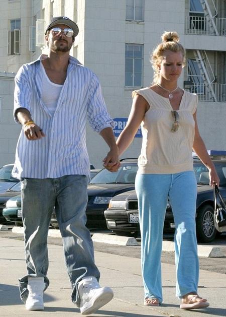 Britney và chồng cũ -