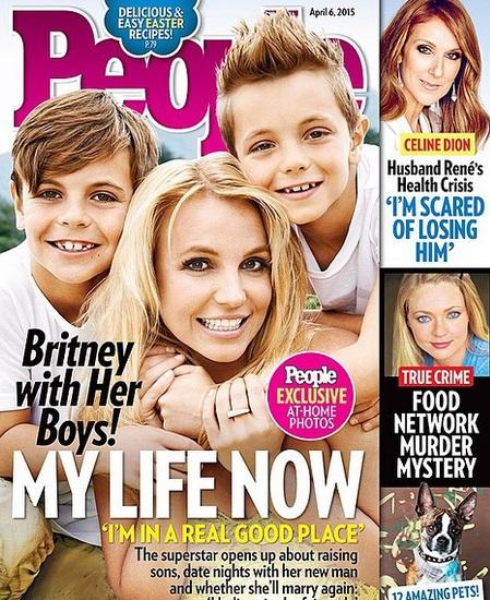 Britney Spears chia sẻ về cuộc sống hạnh phúc bên các con trai và người đàn ông mới.