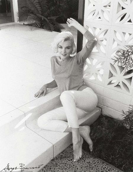 Hé lộ loạt ảnh độc của quả bom sex Marilyn Monroe trước khi mất