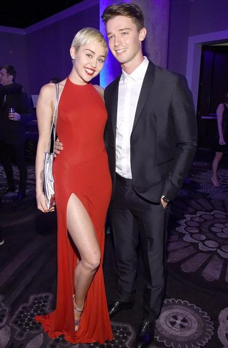 Miley và Patrick đã hò hẹn gần 5 tháng nay.