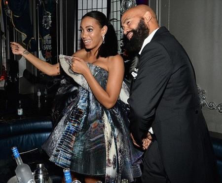 Vợ chồng Solange Knowles cũng quậy hết mức
