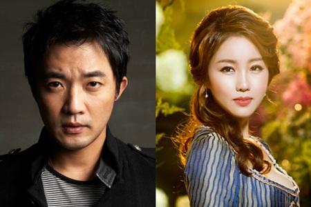 Ahn Jae Wook và bạn gái - Choi Hyun Joo bén duyên từ lần hợp tác chung vào tháng 11 năm ngoái.