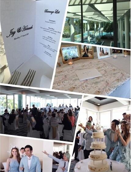 Tiệc cưới sang trọng và ấm cúng của Châu Kiệt Luân và Hannah tại Úc.