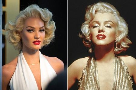 Candice (trái) và Marilyn đều sở hữu vẻ đẹp rực lửa và cuốn hút.