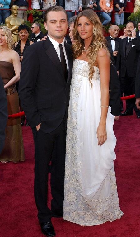 Gisele từng có thời gian cặp kè với tài tử Leonardo Dicaprio trước khi cô lập gia đình.