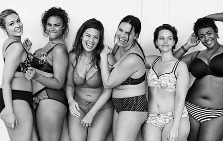 Hãng Lane Bryant sử dụng những người mẫu ngoại cỡ để giới thiệu bộ sưu tập xuân của hãng.