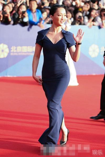 Châu Tấn rất thanh lịch và phong cách.