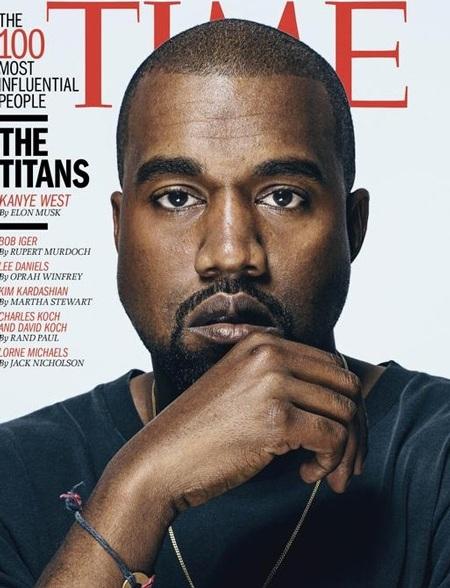 Kanye West là một trong số 100 nhân vật quyền lực nhất thế giới do Time bình chọn.