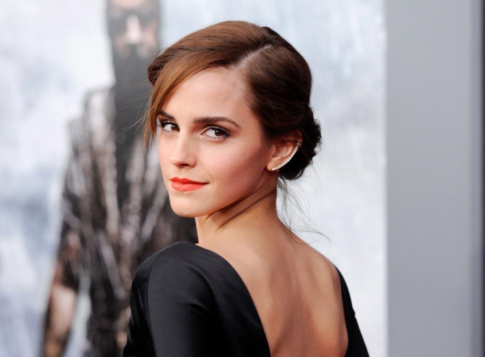 Ngôi sao 25 tuổi Emma Watson...