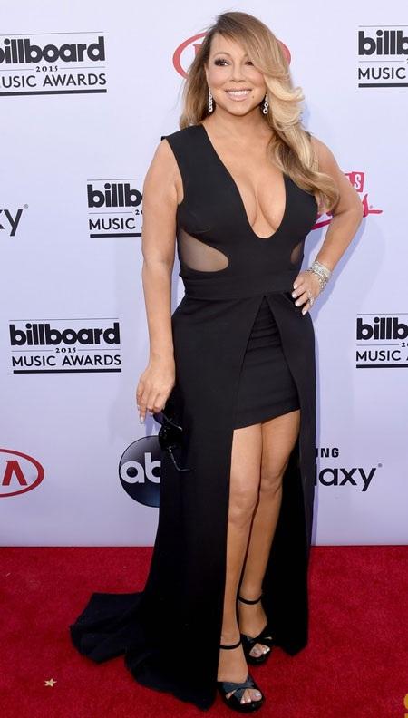 Mariah Carey gợi cảm từng centimet