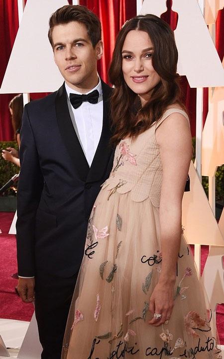 Keira Knightley vừa sinh con đầu lòng