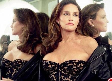 Những hình ảnh nữ tính của Bruce Jenner (Caitlyn Jenner) trên tạp chí Vanity Fair.