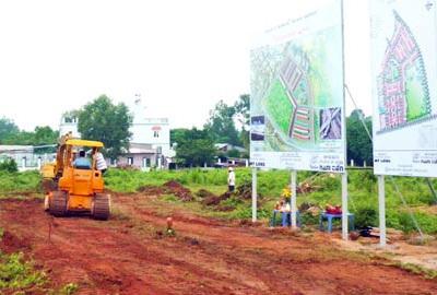 Khu vực được công bố quy hoạch cho dự án xây dựng sân bay Long Thành tại tỉnh Đồng Nai.
