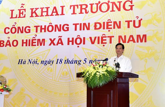 Thủ tướng phát biểu tại buổi lễ.