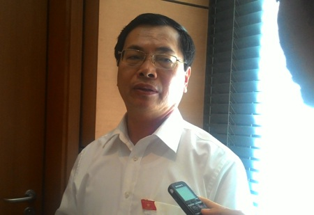 Bộ trưởng Công thương Vũ Huy Hoàng: Không thể trách người nông dân khi nông sản ế thừa.