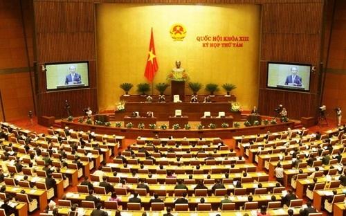 Một phiên chất vấn các thành viên Chính phủ tại Quốc hội kỳ họp cuối năm 2014.