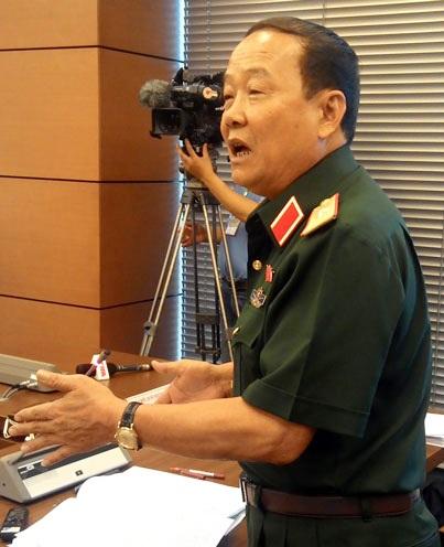 Đại biểu Ngô Ngọc Bình đoàn TPHCM (ảnh: Như Quỳnh).