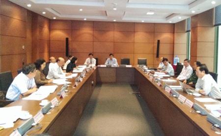 Tổ thảo luận của đoàn Đại biểu Quốc hội TPHCM.