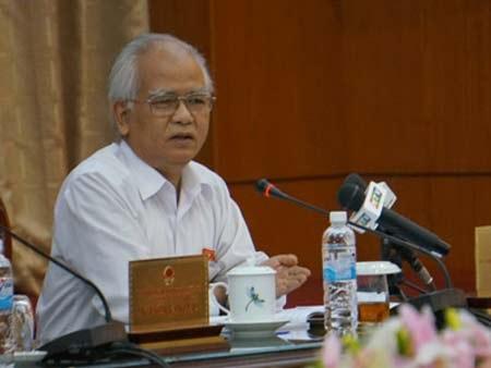 Chủ tịch Hội đồng Dân tộc Ksor Phước.