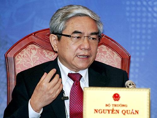 Bộ trưởng KH-CN Nguyễn Quân: Những người làm khoa học Việt Nam thực sự đã vượt qua chính mình.