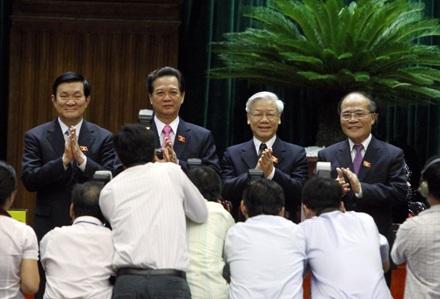 Quốc hội đánh giá công tác cả nhiệm kỳ của Chủ tịch nước, Thủ tướng