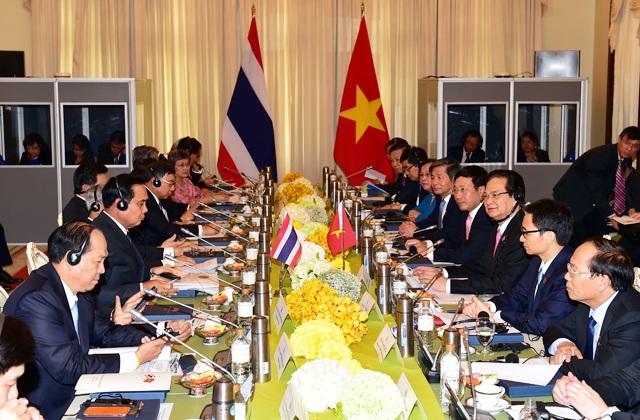 Cuộc họp nội các chung giữa đại diện Chính phủ 2 nước Thái - Việt.