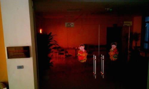 Quang cảnh trụ sở CLB Yêu bản thân sáng 2/6 vắng lặng sau khi nhóm đối tượng điều hành bốc hơi.