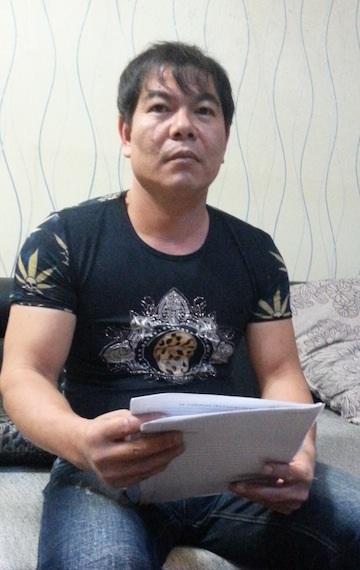 Bị can Nguyễn Văn Tuấn cũng kêu oan cho rằng mình bị đánh đập, ép cung.