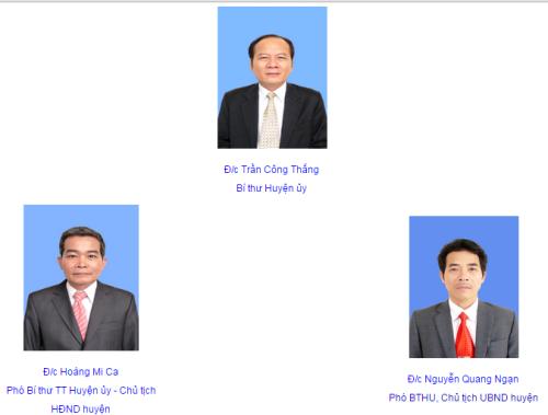 Theo quyết định của Thủ tướng chính phủ, lãnh đạo huyện Sơn Động sẽ phải