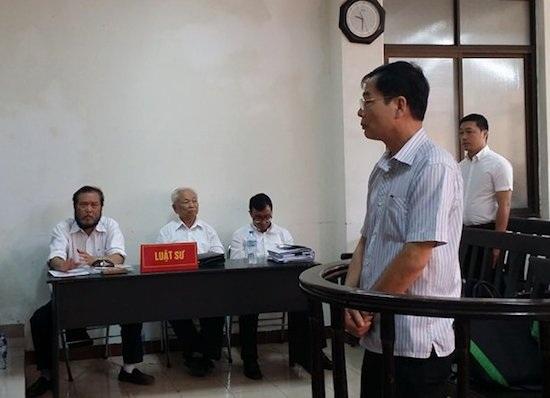 Lần thứ 3 phải hoãn phiên toà xét xử bị cáo Trịnh Ngọc Chung.