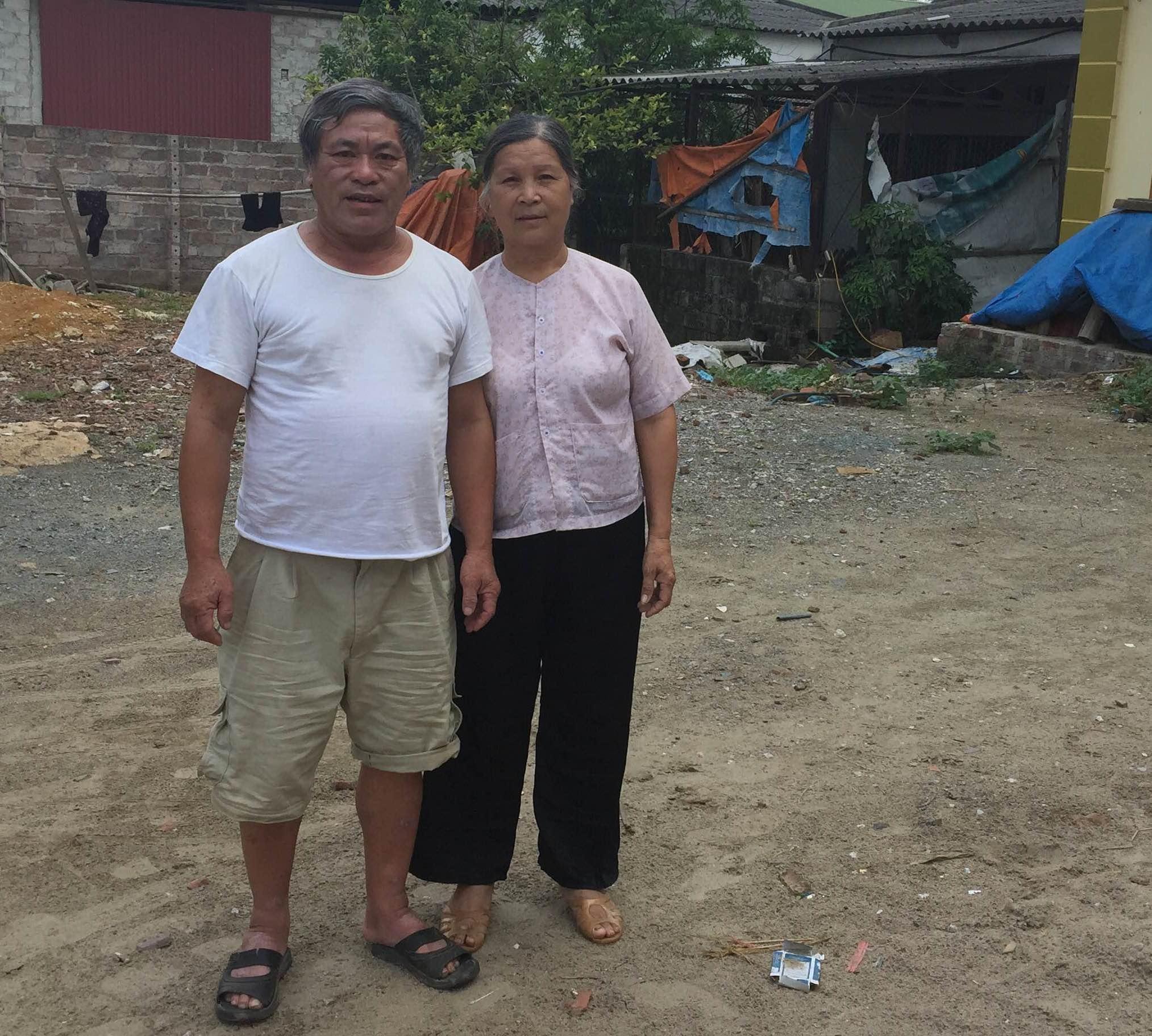 Vợ chồng ông Mông Sài Hồ cho rằng bị khởi tố oan trong vụ án.
