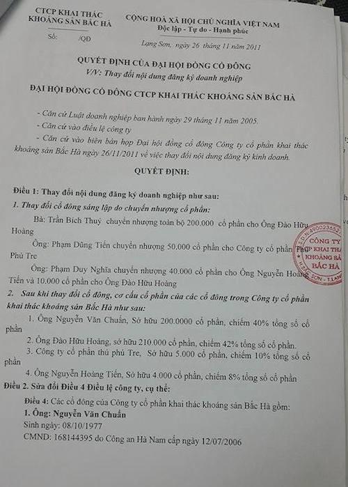 Bà Trần Bích Thuỷ với chữ ký đề nghị các cơ quan chức năng làm rõ sự việc.