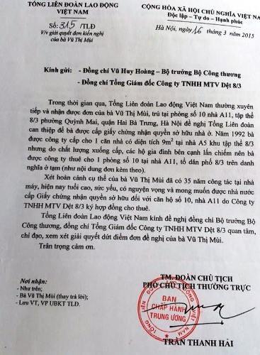 Tổng Liên đoàn Lao động Việt Nam và