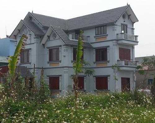 Dự án cụm sản xuất làng nghề biến tướng thành biệt thự?