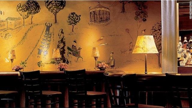 Quán bar Bemelmans của khách sạn Carlyle (New York) là một lựa chọn tiếp theo dành cho bạn